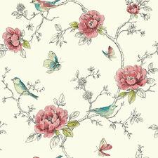 3 feuilles de Maison de Poupées Papier Peint échelle 1/12th Oiseaux Papier de Qualité #308