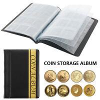 120 Cases Album De Pièces Monnaie Rangement Livre De Collection Numismate DE