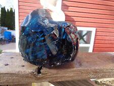 Glass Rock Slag Clear Avon Blue 9.4 lb Rocks Ss64 Landscaping Aquarium