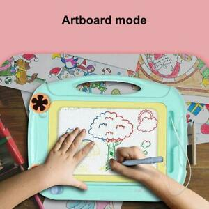 Kids Drawing Board Magnetic Writing Sketch Pad Erasable Graffiti Doodle Toy Gift