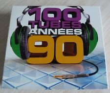 5 CD ALBUM DIGIPACK 100 TUBES ANNEES 90 100 TITRES 2012