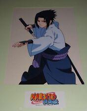 Rare NARUTO SHIPPUDEN Official Studio Pierrot Reproduction Anime Cel Sasuke