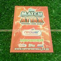 12/13 CHAMPIONSHIP MANAGER CARD MATCH ATTAX 2012 2012