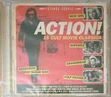 Mojo CD  Action! -15 Cult Movie Classics(Pulp Fiction,Superfly,Eraserhead)