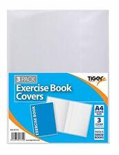 A4 x 3 Cancella esercizio copertine di libri per Scuola/College libri/notebook