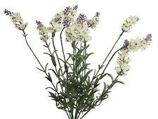 Lavendelbusch creme lila Lavendel Dekopflanze Kunstblume 40cm