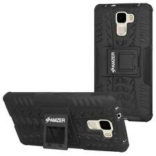 AMZER RUGGED DUAL LAYER HYBRID WARRIOR CASE COVER WITH STAND FOR HUAWEI HONOR 7