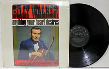 Rare Country LP - Billy Walker - Anything Your Heart Desires - Harmony # HL 7306