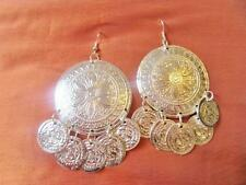 Gorgeous Egyptian Sexy Belly Dance Earrings Dangle Jewellery NEW..GOLD or SILVER