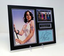 "Melanie C Signed Mounted Photo Display AFTAL COA  Spice Girls Singer ""Sporty"""