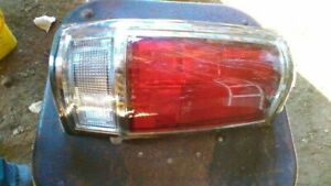 Driver Left Tail Light 720 Chrome Fits 85-86 NISSAN PICKUP 64253
