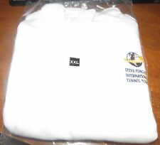 Steve Furgal's Int'l Tennis Tours White Fleece Pullover 2XL NEW!!