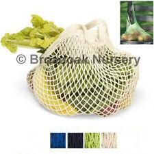 1 ORGANIC COTTON STRING SHOPPING BAG Long Handles, Turtle Bags String Bag