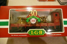 New - Rare Lgb 30 year Gold Stanz+Passenger - Signed - Lgb Owners - (Ea-H-0005)