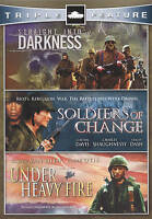 DVD - Action - Under Heavy Fire - Straight Into Darkness - Soldiers of Change