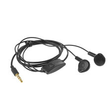 Black 3.5mm Handsfree Headset Headphone For Samsung S5830 S5630 Galaxy Tab i9100