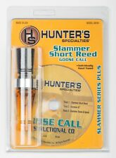 Hunter's Specialties Slammer Short Reed Goose Call with Instructional CD - RARE
