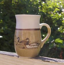 Canadian Canada Goose Pottery Art Coffee Mug Cup