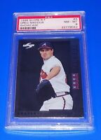 1998 Score R/T Baseball Greg Maddux Card #4 PSA 8 NM Atlanta Braves Showcase HOF