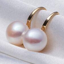 1 par Pendientes Elegante Perla perforado Aretes Mujeres  Aretes