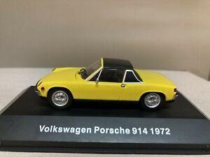 VOLKSWAGEN PORSCHE 914 1972 VW MEXICO DeAGOSTINI IXO 1:43