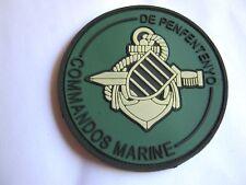 RARE ECUSSON COMMANDOS MARINE COMMANDO DE PENFENTENYO PVC VELCROS ETAT EXCELLENT