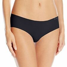 Under Armour Womens UA Pure Stretch Hipster Gym Sports Invisible Underwear S Black