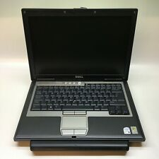 WINDOWS XP 32 BIT DELL LATITUDE D620 LAPTOP PC COMPUTER INTEL 1.66GHz 2GB 60GB
