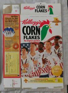 1992 Dream Team Larry Bird Karl Malone Stockton Mullin Wheaties Cereal Box
