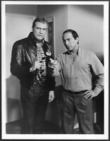 ~ Lee Majors Paul Anka The Fall Guy Original 1983 ABC TV Promo Photo Stuntman
