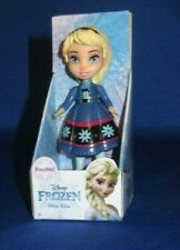 DISNEY PRINCESS COLLECTOR MINI TODDLER DOLL FIGURE FROZEN FEVER ELSA POSABLE NEW