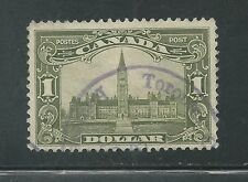 CANADA # 159 Used PARLIMENT BUILDING (4855)