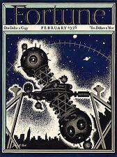 ART PRINT POSTER MAGAZINE 1936 PLANETARIUM PROJECTOR NOFL0626