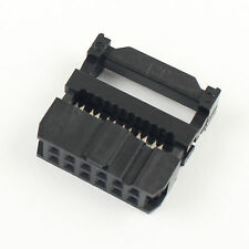 50pcs 254mm Pitch 2x6 Pin 12 Pin Idc Fc Female Header Socket Connector