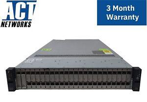 Cisco UCSC-C240-M3 24Bay 2x E5-2640 6C 2.5GHz 64GB Ram 2x 300GB SAS 9266-8i