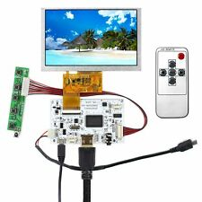 "HDMI LCD Controller Board With 5"" 800X480 LCD Screen For Raspberry Pi"