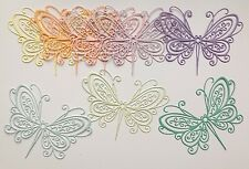 Delicate Impression Obsession Butterfly Die-cuts (Pastels) 8 pieces