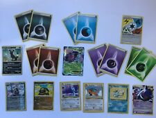 Lot of Reverse Holo & Level X & Genesect EX Dragonair Dragonite Pokemon Card MP