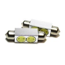 2x Ford KA MK2 Bright Xenon White Superlux LED Number Plate Upgrade Light Bulbs