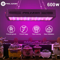 600W Double Switch LED Plant Grow light Full Spectrum Vegetable Flower phyto lam