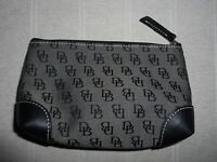 NEW FABULOUS DOONEY AND BOURKE BLACK LOGO MAKE UP BAG
