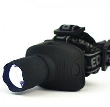 1800 Lumens LED Headlight Headlamp Flashlight Frontal Lantern Zoomable Head