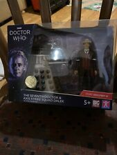 BBC Doctor Who The Seventh Doctor and AXIS Strike Squad Dalek - Limited Edition