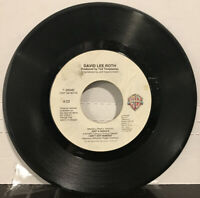 "David Lee Roth – Just A Gigolo 7"" Single 1985 Warner Bros. Records – 7-29040"