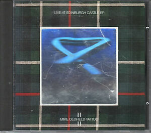 Mike Oldfield  CD-SINGLE  TATTOO  / HOLOGRAM COVER EP