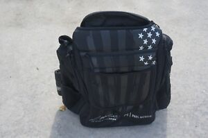 New Discraft Grip EQ *PAUL McBETH* AX4 Grip Bag Black/black Claw Very Limited