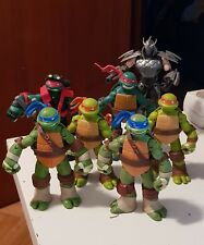 NICKELODEON TMNT TEENAGE MUTANT NINJA TURTLES FIGURES AND VEHICLES LOT