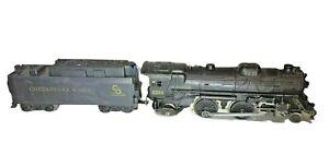 Lionel 8204 Locomotive with Chesapeake & Ohio Sound of Steam Tender | Works