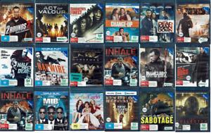 Ex Rental Blu Ray Movies - Region B