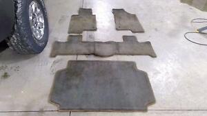 06-10 Hummer H3 OEM Floor Mats with Cargo Mat (Ebony/Morocco)